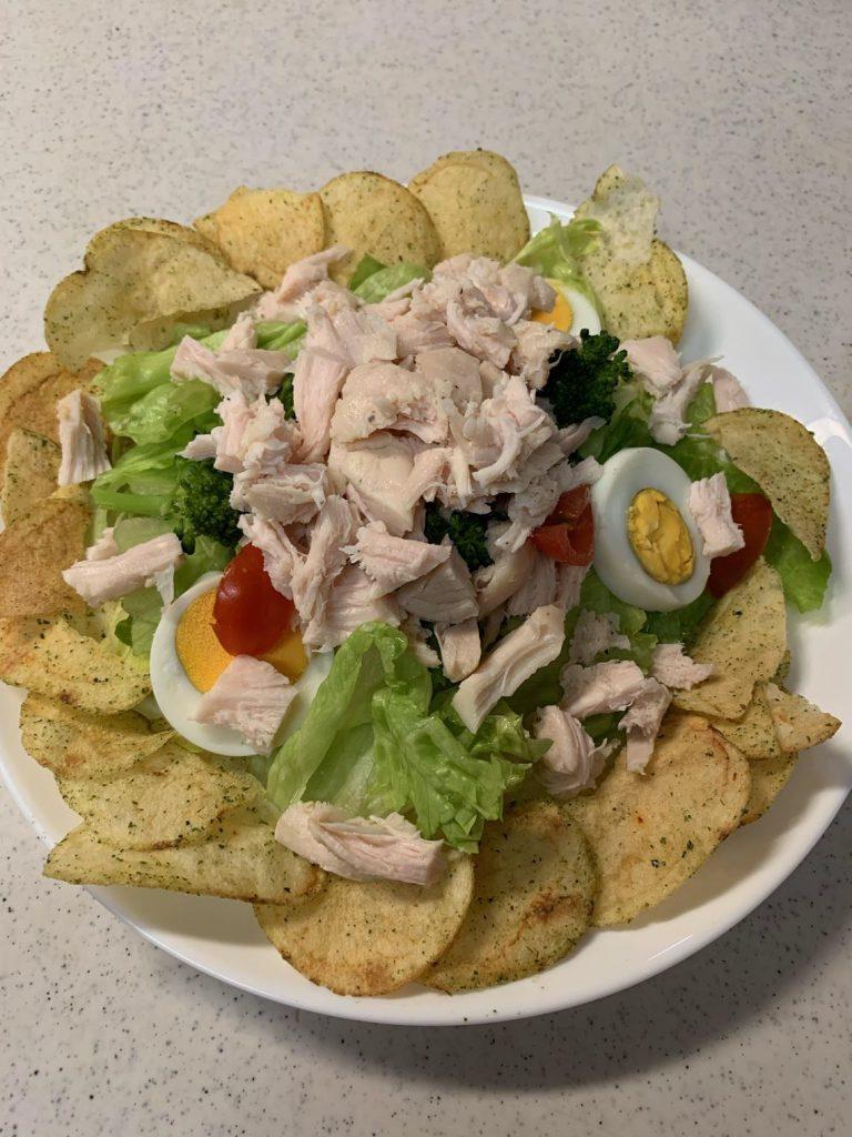 サラダチキン料理