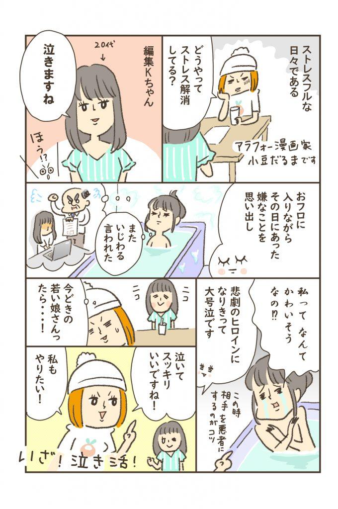 ストレス編-1コマ目