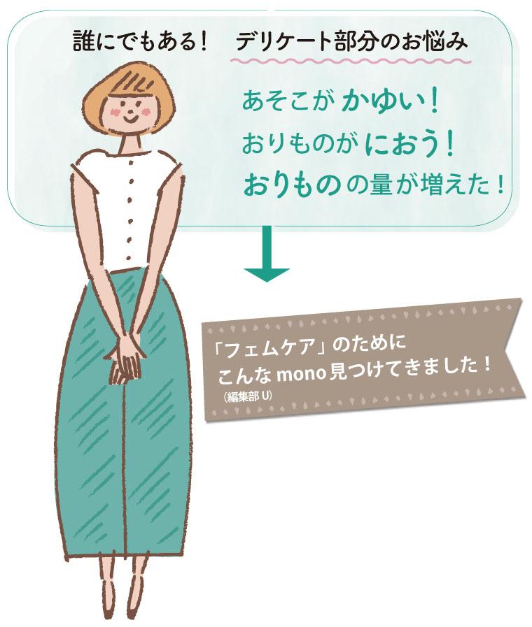 フェムケア アイテム紹介