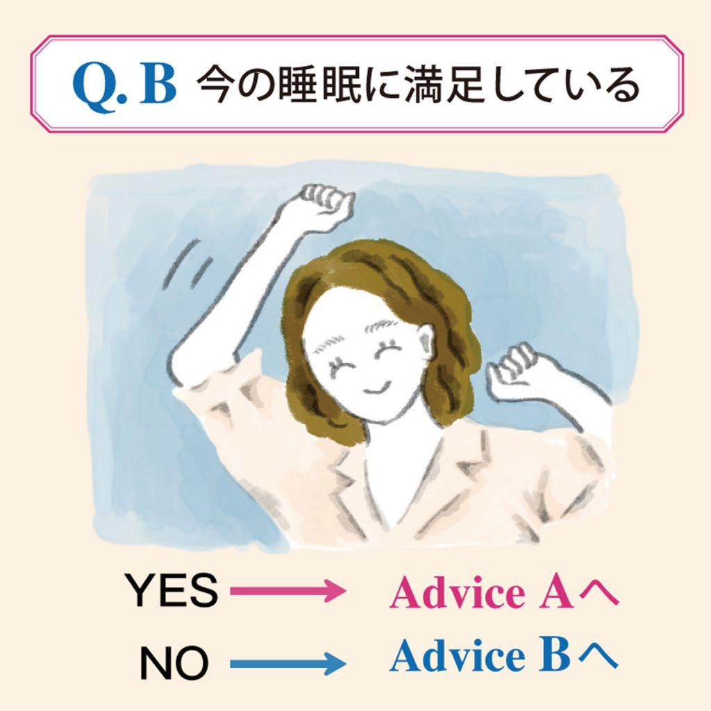 あなたにおすすめ! 眠活チャート3