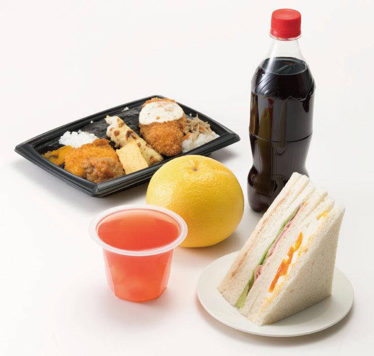 添加物 スーパーの食品例